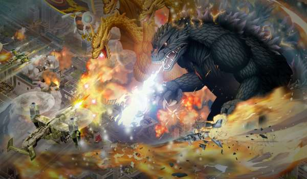 Godzilla Defense Force Now Available on Mobile Devices Worldwide