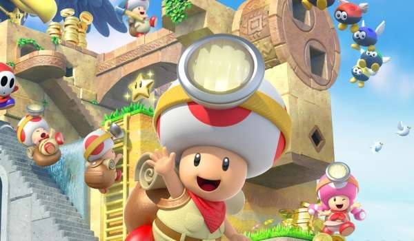 Get Discounts On Captain Toad, Luigi's Mansion And More With The Latest European My Nintendo Rewards